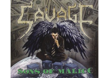 Savage - Sons Of Malice (Clear Vinyl) Limited Edition -