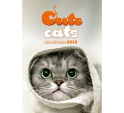 Cute Cats - Calendario Stupendo 2018