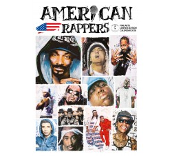 American  Rappers - Calendario Official 2018