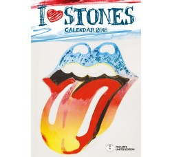 Rolling Stones - Arts Collection Calendario 2018