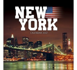 NEW YORK - Calendario da Collezione (2017)
