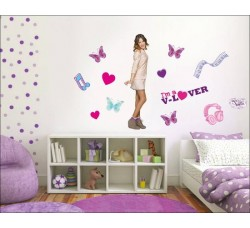 Violetta - Poster Stickers removibile