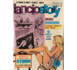 Lancio Story - n° 38 -  27 Settembre - Anno 1982