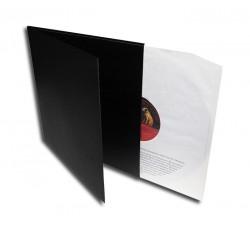 Copertina deluxe doppio LP - Colore Nero
