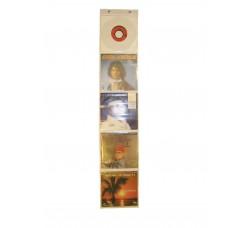 Display  per 45 giri -  5 Posti colore Trasparente