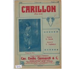 Carillon - E. Murolo - E. Tagliaferri - Spartito musicale - Anni 20