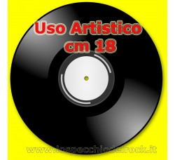 """Dischi Vinili per Uso Artistico -  Formato  7"""" - Cm 18"""