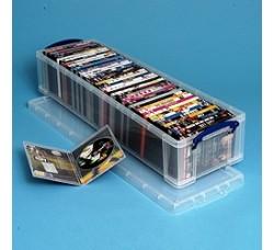 Contenitore per 50 DVD o 25 WHS